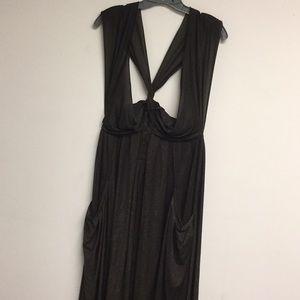 Marc Jacobs Bronze A-line Sleeveless Dress Size XS